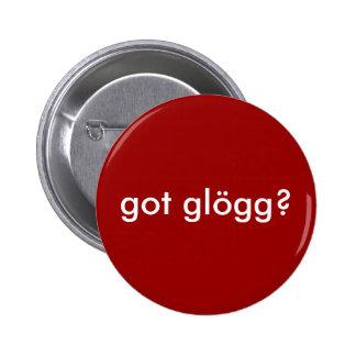 ¿glogg conseguido? Bebida escandinava divertida Pin Redondo 5 Cm