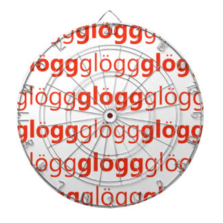 Glogg Glogg Glogg Funny Swedish Dartboard With Darts