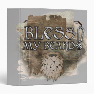 Gloin - Bless My Beard 3 Ring Binder