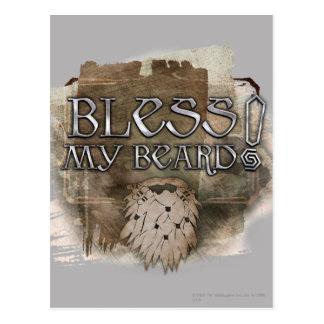 Gloin - Bless My Beard Postcard