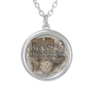 Gloin - Bless My Beard Silver Plated Necklace