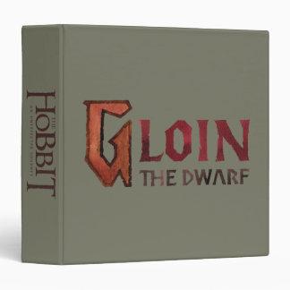 Gloin Name 3 Ring Binder