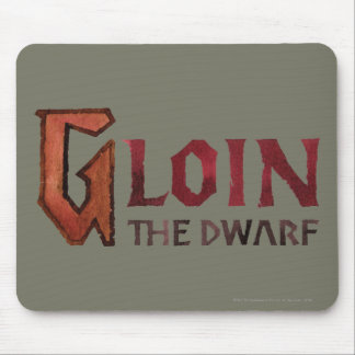 Gloin Name Mouse Pad