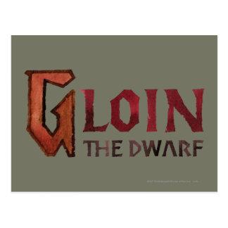 Gloin Name Post Card