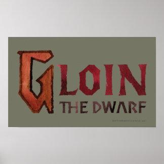 Gloin Name Poster