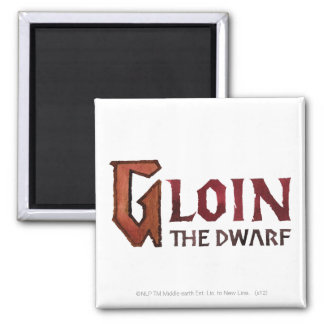 Gloin Name Refrigerator Magnets