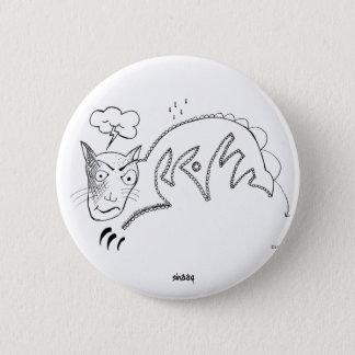 Gloomy Cat Pinback Button
