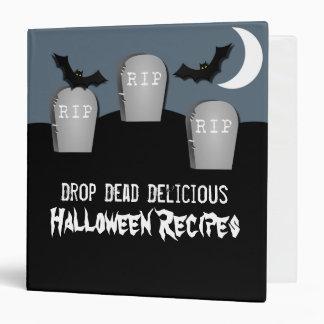 Gloomy Graveyard Halloween Binder (1.5 inch)
