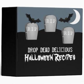 Gloomy Graveyard Halloween Binder (2 inch)