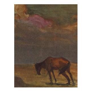 Gloomy Hungarian Fate by Janos Tornyai Postcard
