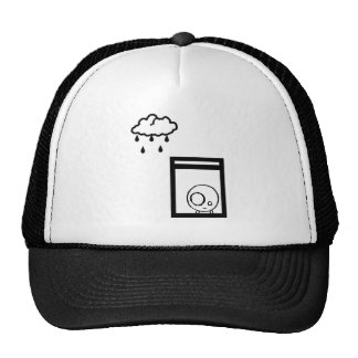 Gloomy moby hat