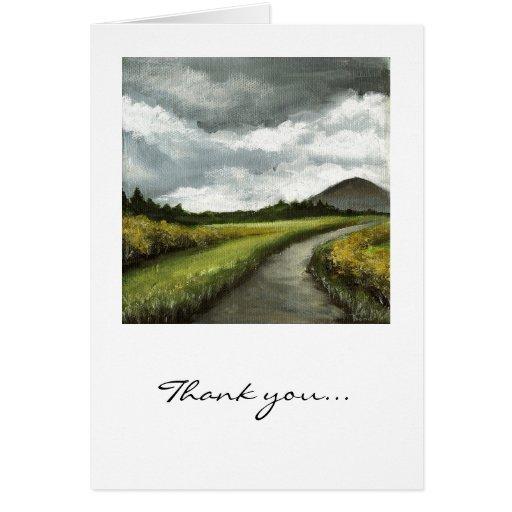 Gloomy skies of Connemara Greeting Card