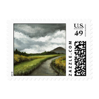 Gloomy skies of Connemara Stamps