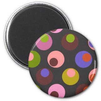Gloomy Spots Refrigerator Magnets