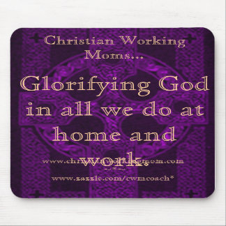 Glorfying God in all we do Celtic Mousepad