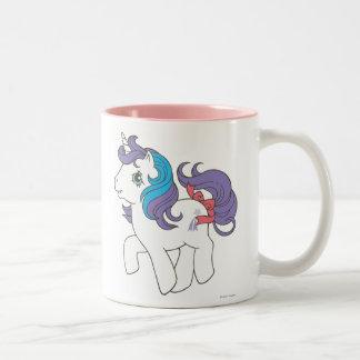 Gloria 2 taza de café de dos colores