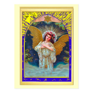 Gloria a dios en el más alto, ángel postales