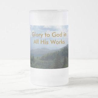 Gloria a dios tazas