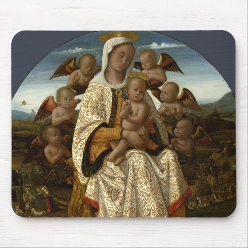 GLORIA A JESÚS Y A MARIA ALFOMBRILLAS DE RATONES