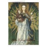 gloria a Jesús y a Maria Felicitación