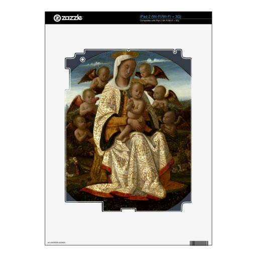 GLORIA A JESÚS Y A MARIA SKINS PARA iPad 2