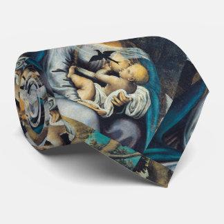Gloria a la Virgen bendecida Corbatas