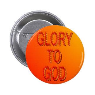 Gloria al botón de dios pins