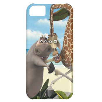 Gloria And Melman Hand Holding Case For Iphone 5c by madagascar at Zazzle