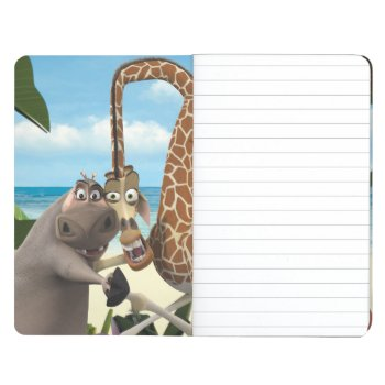 Gloria And Melman Hand Holding Journal by madagascar at Zazzle
