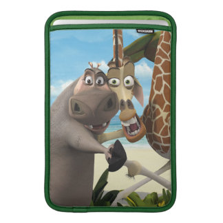 Gloria and Melman Hand Holding Sleeve For MacBook Air