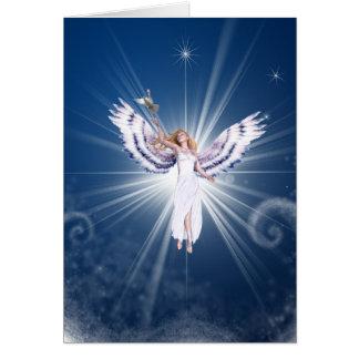Gloria Angel Christmas Card