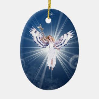 Gloria Angel Holiday decoration Ceramic Ornament