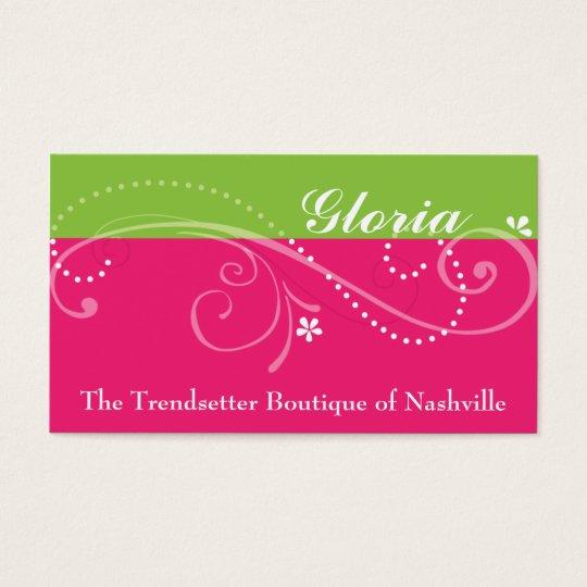 Gloria Business Cards