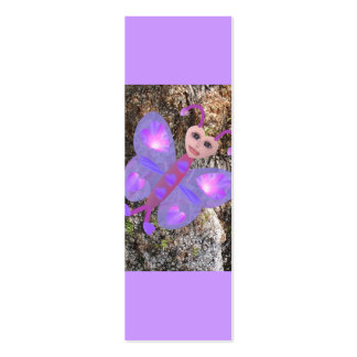 Gloria Butterfly, Mini Bookmarks Business Card