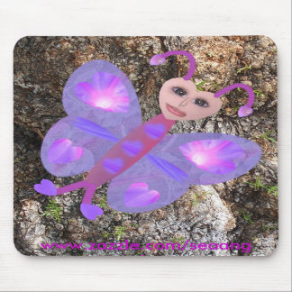 Gloria Butterfly Mouse Mats