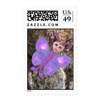 Gloria Butterfly Postage Stamps