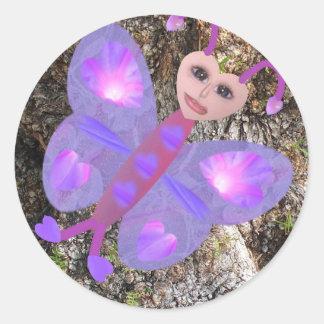 Gloria Butterfly Sticker