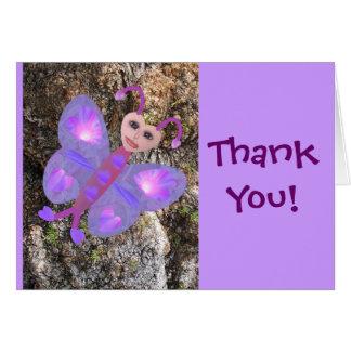 Gloria Butterfly ThankYou Cards