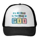 Gloria de dios gorras de camionero