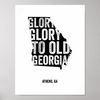 Gloria de la gloria (negro) posters