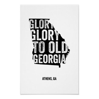Gloria de la gloria negro posters