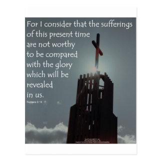 Gloria del 8:18 de los romanos que se revelará postales