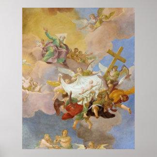 Gloria del Cristo recién nacido de Daniel Gran Impresiones