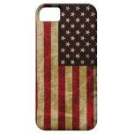 Gloria del estilo del Grunge vieja de la bandera r iPhone 5 Case-Mate Funda