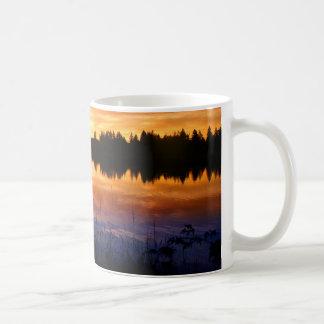 Gloria del lago taza básica blanca