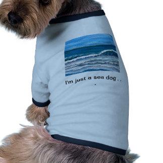 Gloria del mar - arte del océano de CricketDiane Camisa De Perrito