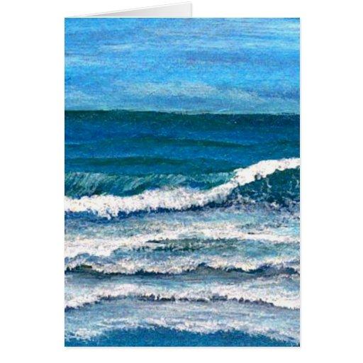 Gloria del mar - arte del océano de CricketDiane Tarjeta De Felicitación