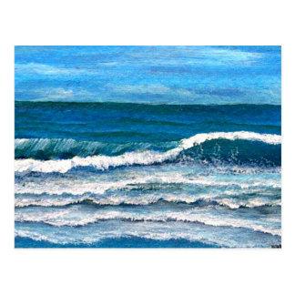Gloria del mar - arte del océano de CricketDiane Postal