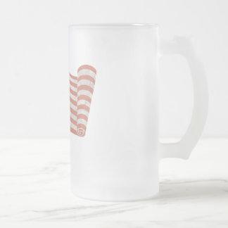 Gloria enrollada tazas de café