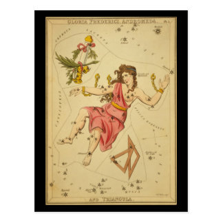 Gloria Frederici, Andromeda and Triangula Postcards